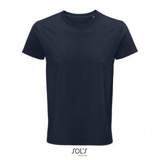 T Shirt Homme Publicitaire En Coton Biologique 150g CRUSADER MEN Marine