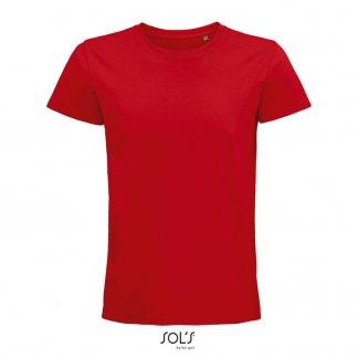T Shirt Homme Promotionnel En Coton Biologique 175g PIONEER MEN Rouge