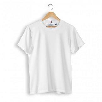 T Shirt Mixte Publicitaire Coton Biologique 240g ALPHONSE Blanc