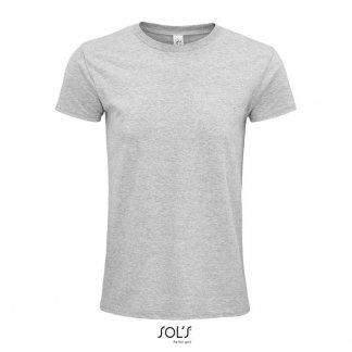 T Shirt Mixte Promotionnel En Coton Biologique 140g EPIC Gris Chiné