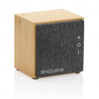 Enceinte Bluetooth Publicitaire En Bambou Wynn