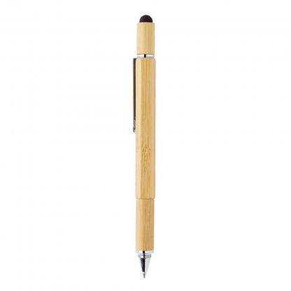 Stylet Stylo Multifonctions 5 En 1 En Bambou BAMSTIL Stylet