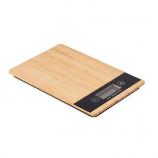 Balance de cuisine numérique promotionnelle en bambou - PRECISE