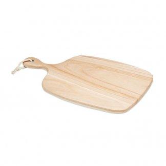 Planche à découper publicitaire avec poignée en bois - ARGOBOARD