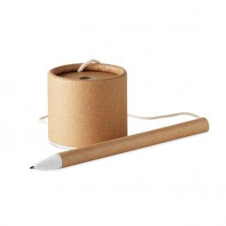 Stylo bille publicitaire et support en papier recyclé - PAPSTAND