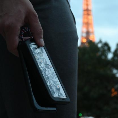 Chargeur Nomade En PET Et SEBS Recyclés – 8000mAh – WARM UP Poche